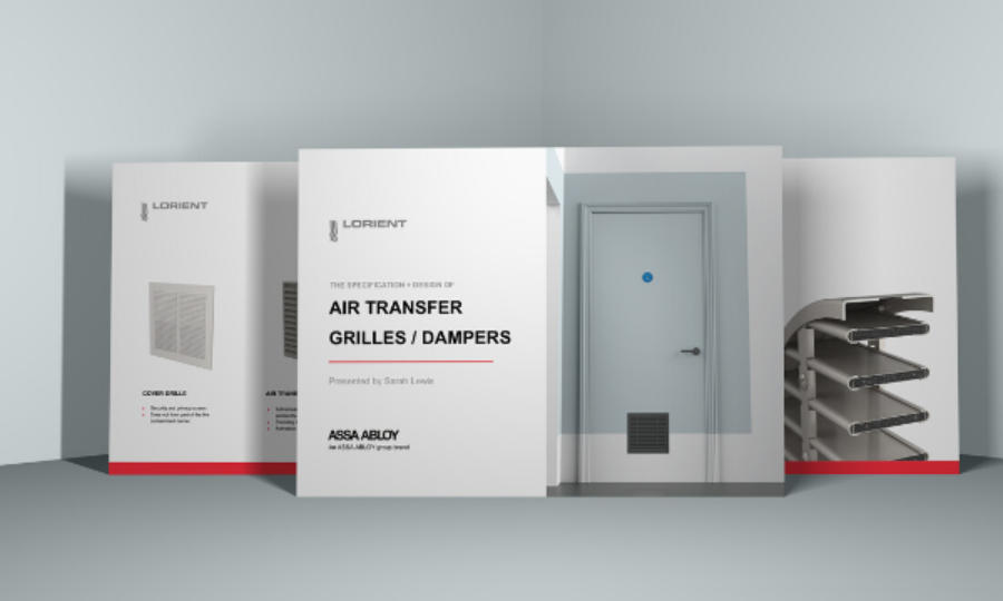 New Air Transfer Grille CPD webinar
